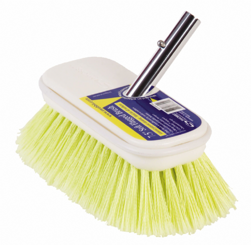 "Swobbit 7 1/2"" Soft Boat Brush General Purpose Cleaning"
